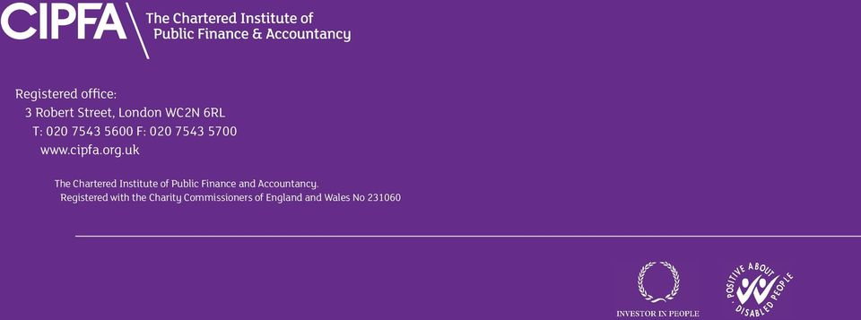 uk The Chartered Institute of Public Finance and Accountancy.